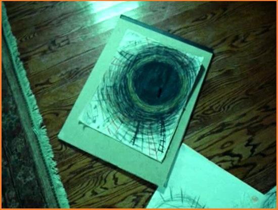 Рисунок Эйдана Келлера из фильма Звонок