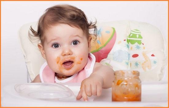 Ввод прикорма детям