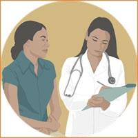 Посещение врача при беременности