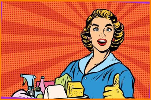 Стать домохозяйкой