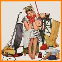 Быть домохозяйкой