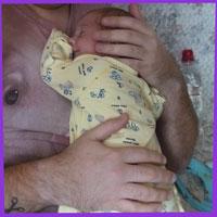 Первый день после роддома