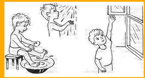 Как закалить ребенка зимой