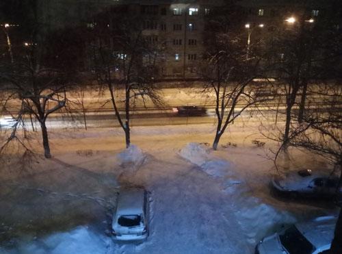 Неожиданное наступление зимы