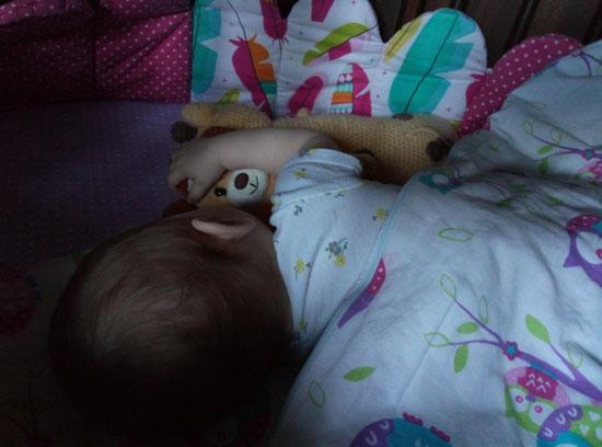 Ангел. Особенно, когда спит...и дает спать нам :)