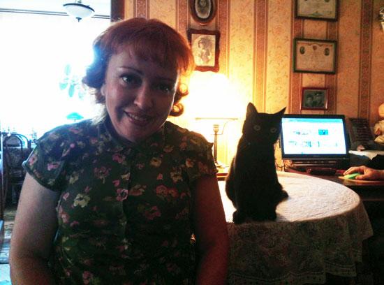 Мама тоже в котячей системе