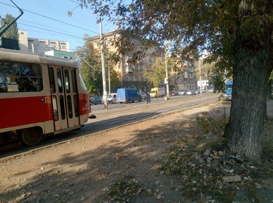Мой трамвай приехал