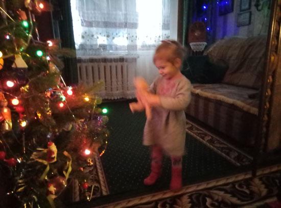 У кое-кого уже и новогоднее настроение присутствует