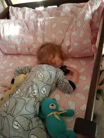 Уснула во время переговоров